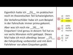 Zertifikat Deutsch Telc B1 - Sprachbausteine Teil 1