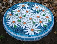 Image result for flower designs for mosaic table