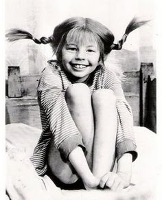 Pippi Longstocking by Astrid Lindgren - So many childhood memories My Childhood Memories, Old Tv, The Good Old Days, Back In The Day, Make Me Smile, The Past, Black And White, My Love, People
