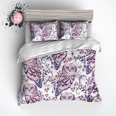Sweet Owl Duvet Bedding Sets Spare Bedroom
