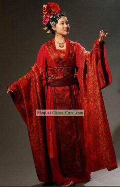 9c2a596c93 Ancient Chinese Wedding Dress for Brides. anna chen · Traditional wedding  dresses