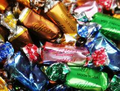 Assorted Foil Wrapped Toffee