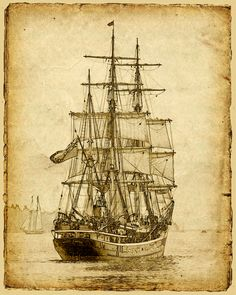 cool ship scetch