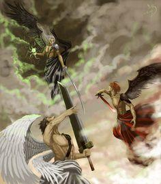 seraphim warriors - nope no Athena's on my playground-