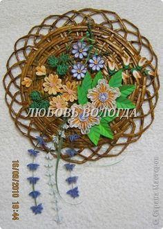 Basket of flower Quilling