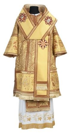 "bishop vestment with ""Phoenix"" embroidery"