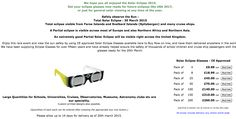 occhiali eclissi
