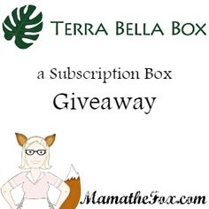 Terra Bella Subscription Box Giveaway Read the full review here Welcome to the At Your Door Subscription Box Hop! At each stop in this hop you will find a chance to either win a subscription box or a credit to choose a subscription box! This event is brought to you by:The Kids Did It& The…