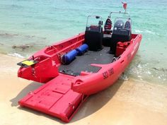 Own your own landing craft! I have no idea what this thing is -- the web page is in German -- but it is cool as hell! Mud Boats, Kayak Boats, Small Fishing Boats, Small Boats, Kayaks, Kayak Fishing, Bikini Fishing, Fishing Games, Fishing Charters