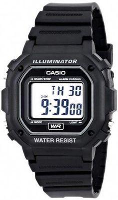 2bc24bc515 Casio Unisex Digital Watch, Black Resin Strap #digitalwatchsimple Sportos  Órák, Digitális Karóra,