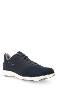 Free shipping and returns on Geox Nebula10 Waterproof Slip-On Sneaker (Men) at Nordstrom.com. Treated suede and a tonal saddle define this forward-looking waterproof sneaker outfitted with elastic lacing for easy on and off. The grippy cloverleaf tread provides added comfort and traction on wet or dry surfaces.