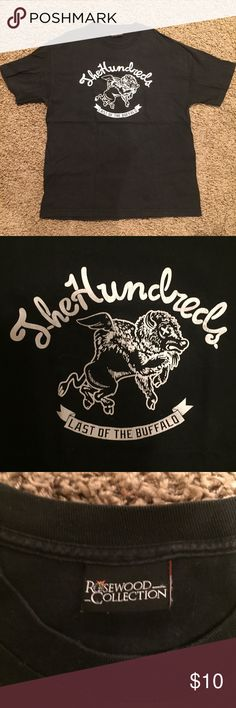 The Hundreds black tee The Hundreds black graphic tee. Graphic has slight cracks. Condition. 7/10 The Hundreds Shirts