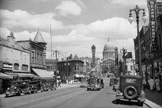 Madison Wisconsin 1935~ State Street