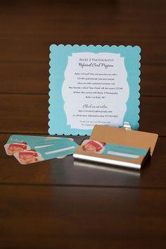 Referral Card Program | Becky Z Photography
