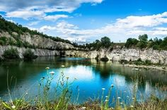 Kudy z nudy - Lom U Mariánského mlýna nedaleko Mikulova Naha, Mamma Mia, Mario, River, Jezera, Outdoor, Longing For You, Places, Outdoors