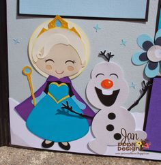 Let it Go Frozen Scrapbook Page Kit SVG http://www.ppbndesigns.com/let-it-go-princess-2-page-scrapbook-kit/