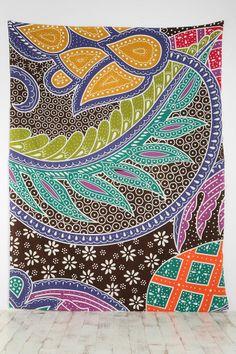 Batik Galaxy Tapestry, $39.00