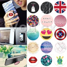 Air Sac Phone Holder Expanding Stand Grip Pop Socket Mount for iPhone 7 Tablet Mobile Holder Desk For Xiaomi huawei