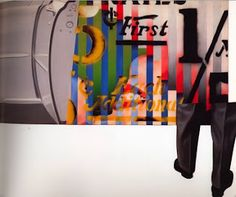 James Rosenquist known most frequently with the Pop Art Movement started out with little schooli ng but rather chose to focus on working. Pop Art Movement, Jazz Art, Experiential, Colour Schemes, Origins, Art And Architecture, Art History, 2d, Textiles