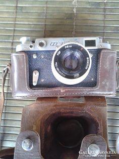 Fed-2 fényképezőgép Fujifilm Instax Mini, Retro, Retro Illustration, Mid Century
