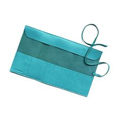 Buy Large Makeup Brush Roll in our bestselling Timeless leather. Monogram with your initials! Makeup Brush Roll, Makeup Brush Holders, Sleek Makeup, Car Hacks, Leather Gifts, Makeup Tips, Makeup Products, Teal Blue, A Boutique