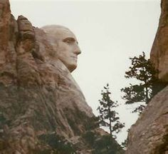 One of my favorite views of Mount Rushmore