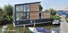 Arquitectura de Casas: Casas modernas flotantes en Europa.