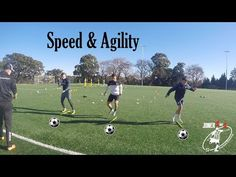 Full speed and agility drills with Pro players - Joner 1on1 - YouTube