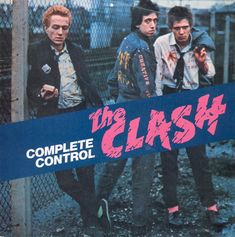The Clash: 'Complete Control' picture sleeve single 1977 CBS Spain