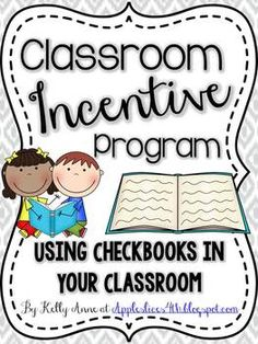 Checkbook Behavior Incentive Program {Classroom Management That Works} Prefect for ANY age level and a great way to support positive behavior!