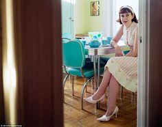 Pausa caffè della casalinga anni 50