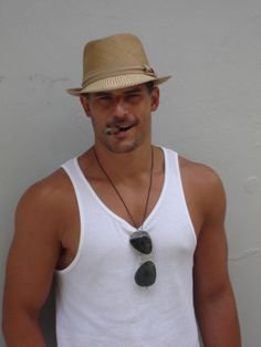 Joe Manganiello....smokin