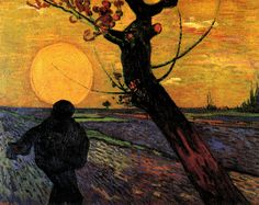 The Sower, Vincent Van Gogh.