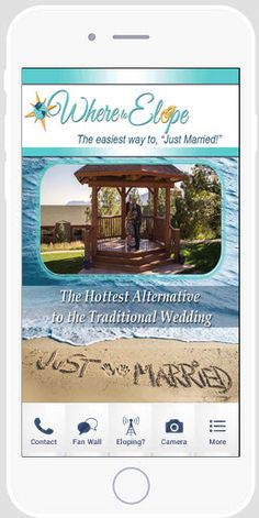 Looking for a Place To Elope? Download our New Mobile App at: http://www.wheretoelope.com/mobile-app/