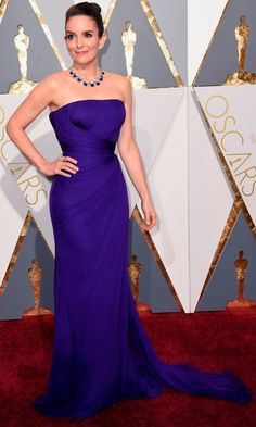 Tina Fey attends the 88th annual Academy Awards