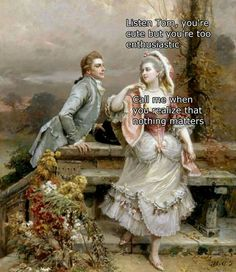 66 Times People Put Some Humor Into Classic Art - Classical Art Memes - Renaissance Memes, Medieval Memes, Classical Art Memes, Bel Art, Memes Arte, Art History Memes, Art Jokes, Silly Pictures, Youre Cute