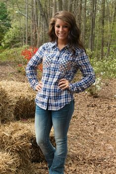 Miss Me Laid Back Flannel Shirt $69.00 #SouthernFriedChics