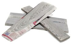 """PAPER WOOD --- Developed by Mieke Meijer for design firm vij5, Kranthout (Dutch for """"newspaper wood"""") is a new material made of old newspapers that are rolled together and milled into planks"""