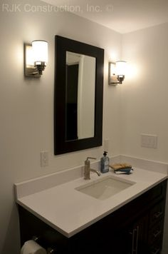 Masculine Bathroom Renovation   Contemporary   Bathroom   Dc Metro   By RJK  Construction Inc