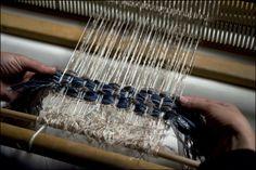 Fabrication du tweed à la maison Lesage