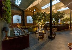 Greenery-filled Restaurant Ours opens in London's Kensington - The Spaces Restaurant Ours, Date Night London, Gq, Kensington London, London Places, Good Dates, London Restaurants, London Life, Great Night