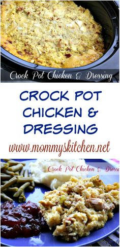 Popular on the blog right now is this Crock Pot Chicken & Dressing. I know this is more of a fall/winter meal, but by cooking it in the crock pot means you can enjoy this dish all year round. ‪#‎crockpot‬ ‪#‎slowcooker‬ ‪#‎chicken‬ ‪#‎chickenanddressing‬