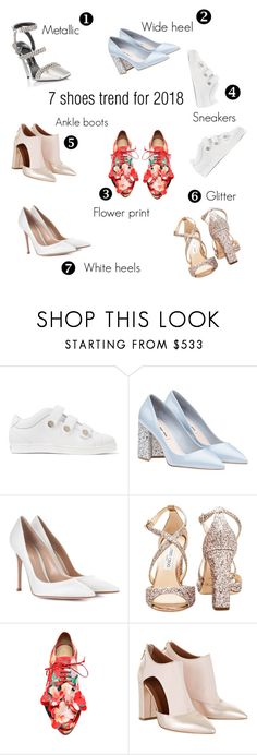 """""""7 shoes trends for Spring"""" by yourstylemood on Polyvore featuring мода, Jimmy Choo, Gianvito Rossi, shoes, trends, contestentry, polyvoreeditorial и polyvorecontest"""