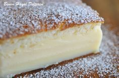 SİHİRLİ KEK Custard Cake, Turkish Cuisine, Brioche, Fethiye, Saveur, Pasta Cake, Cake Recipes, Dessert Recipes, Pudding Cake