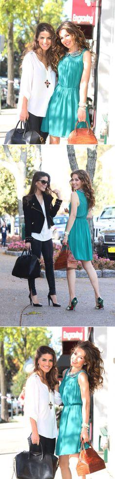 "Thalía & Camila Coelho (""Super Vaidosa"" Blogger & YouTuber) OOTD."