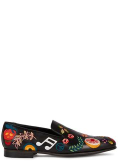 Paul Smith black leather loafers