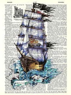 Коллекция картинок: Винтаж. Корабли. Разные фоны