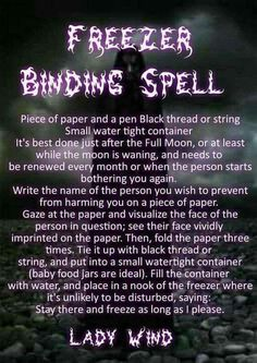 Do not put glass in the freezer. It will shatter Hoodoo Spells, Magick Spells, Candle Spells, Wiccan Protection Spells, Spell For Protection, Candle Magic, Witchcraft Spells For Beginners, Healing Spells, Witch Spell Book