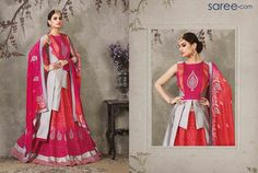 PINK SILK LEHENGA CHOLI WITH EMBROIDERY WORK