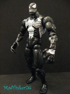 Venom (McFarlane Style V2) (Spider-Man) Custom Action Figure